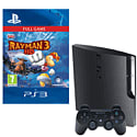 Preowned PlayStation 3 120GB (Grade C) With Rayman 3 HD Download
