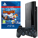 Preowned PlayStation 3 500GB With Rayman 3 HD Download