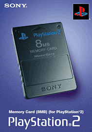 Memory Card - 8MB - Sony Accessories