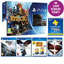 PlayStation 4 with Killzone, Need for Speed, Knack, PS Plus 12 Month Membership, Despicable Me 2 and Man of Steel Blu-Rays
