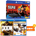 PlayStation 4 with Assassin's Creed IV: Black Flag, Killzone: Shadow Fall and PlayStation Plus 12 Month Membership