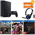 PlayStation 4 with Destiny + Vanguard, Watch Dogs Special Edition and PlayStation Plus 12 Month Subscription