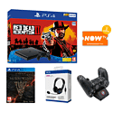 PlayStation 4 with FIFA 15, The Last of Us Remastered Download and Extra White DualShock 4