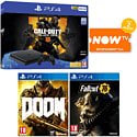 PlayStation 4 With Grand Theft Auto V, The Last Of Us Remastered Download & Godzilla Bluray Movie