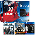PlayStation 4 With DriveClub, Destiny Vanguard, Watch Dogs & The Last Of Us Remastered Download