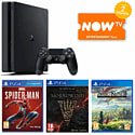 White PlayStation 4 Console With DriveClub & The Last Of Us Download