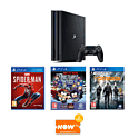 PlayStation 4 Console With DriveClub, FIFA 15 & The Last Of Us Remastered Download