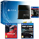 PlayStation 4 Console With DriveClub, The Crew & The Last Of Us Remastered Download