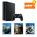 PlayStation 4 With FIFA 15, DriveClub, LittleBigPlanet 3, Minecraft, DualShock 4 & How To Train Your Dragon 2 Bluray