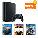 White PlayStation 4 Console With DriveClub, FIFA 15 & The Last Of Us Remastered Download