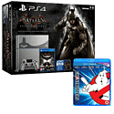 PlayStation 4 Limited Edition Batman Arkham Knight Console and Ghostbusters 30th Anniversary