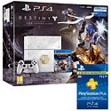 Destiny: The Taken King 500GB PlayStation 4 Console With 3 Month PlayStation Plus Subscription