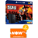 PlayStation 4 1TB Console With Uncharted Collection, Journey Download & NOW TV 3 Month Entertainment Pass