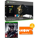 PlayStation 4 1TB Console With Uncharted Collection, Mad Max, Metal Gear Solid V & NOW TV 3 Month Entertainment Pass