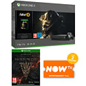 PlayStation 4 1TB Console With Uncharted Collection, Journey Download, Mad Max & NOW TV 3 Month Entertainment Pass