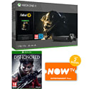 PlayStation 4 1TB Console With Uncharted Collection, Journey Download, LEGO Jurassic World & NOW TV 3 Month Entertainment Pass