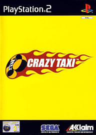 Crazy Taxi PlayStation 2 Cover Art