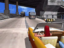 Crazy Taxi screen shot 1
