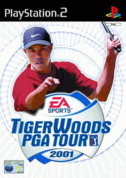 Tiger Woods PGA Tour 2001 PlayStation 2 Cover Art