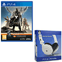 Destiny + Vanguard and 4Gamers Official Stereo Gaming Headset