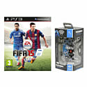FIFA 15 with Afterglow Controller for PlayStation 3