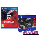 DriveClub With Compact Racing  Wheel - Only At GAME
