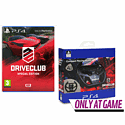 DriveClub Special Edition With Compact Racing Wheel - Only At GAME