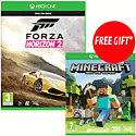 Forza Horizon 2 with Free Minecraft