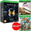 Halo: Master Chief Collection and Forza Horizon 2 with Free Sunset Overdrive