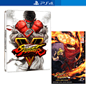 Street Fighter V Steelbook Edition With Limited Edition Comic Book - Only At GAME
