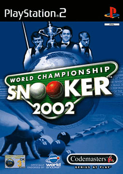 World Championship Snooker 2002 PlayStation 2 Cover Art