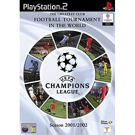 UEFA Champions League 2001-2002 PlayStation 2 Cover Art