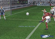 Pro Evolution Soccer screen shot 3
