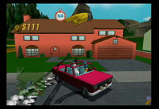 The Simpsons Road Rage screen shot 2