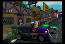 The Simpsons Road Rage screen shot 4