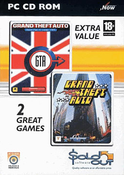 Grand Theft Auto + Grand Theft Auto London PC Games and Downloads Cover Art