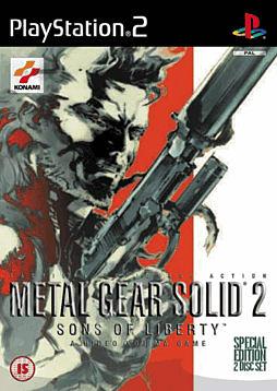 Metal Gear Solid 2 PlayStation 2