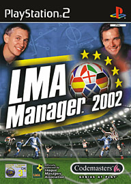 LMA Manager 2002 PlayStation 2 Cover Art