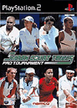 Smash Court Tennis Pro Tournament PlayStation 2 Cover Art
