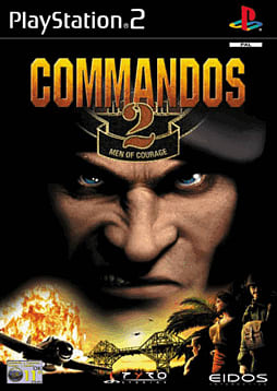 Commandos 2 - Men of Courage PlayStation 2 Cover Art