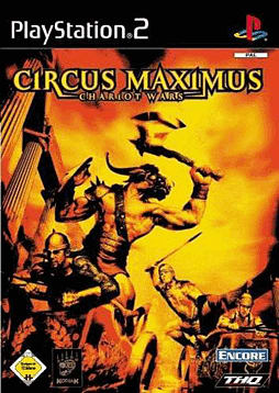 Circus Maximus: Chariot Wars Playstation 2 Cover Art