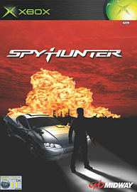 SpyHunter Xbox Cover Art