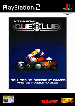 International Cue Club PlayStation 2 Cover Art