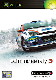 Colin McRae Rally 3 Xbox Cover Art