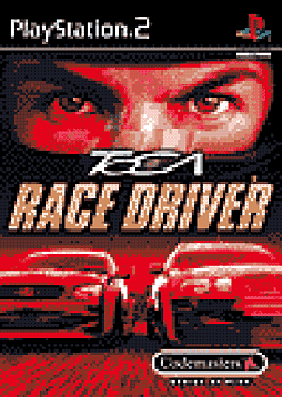 TOCA Race Driver PlayStation 2 Cover Art