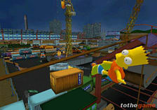 The Simpsons Skateboarding screen shot 3