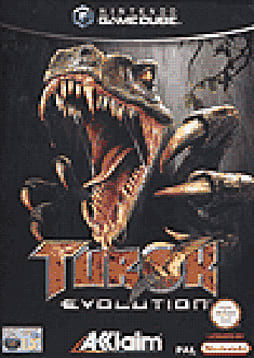 Turok Evolution GameCube Cover Art