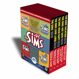 The Sims Strategy Guide Pack - Prima Strategy Guides and Books