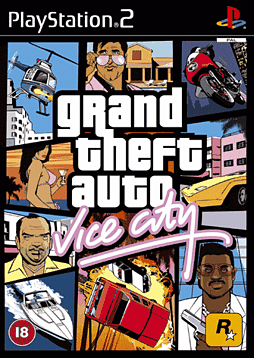 Grand Theft Auto - Vice City PlayStation 2 Cover Art