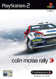 Colin McRae Rally 3 PlayStation 2 Cover Art